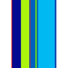 Blue and green lines 5.5  x 8.5  Notebooks