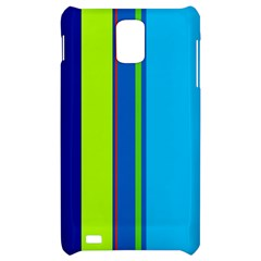 Blue and green lines Samsung Infuse 4G Hardshell Case