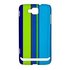 Blue and green lines Samsung Ativ S i8750 Hardshell Case