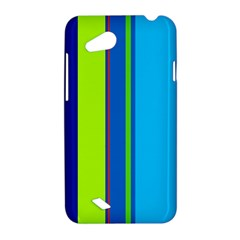 Blue and green lines HTC Desire VC (T328D) Hardshell Case