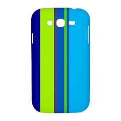 Blue and green lines Samsung Galaxy Grand DUOS I9082 Hardshell Case