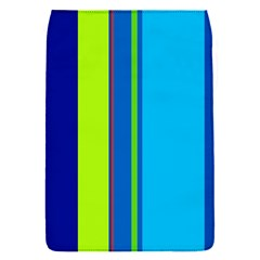 Blue and green lines Flap Covers (S)