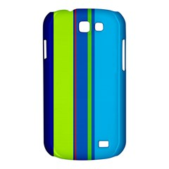 Blue and green lines Samsung Galaxy Express I8730 Hardshell Case