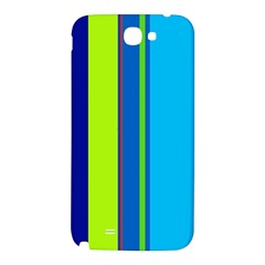 Blue and green lines Samsung Note 2 N7100 Hardshell Back Case