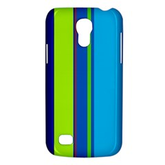 Blue and green lines Galaxy S4 Mini