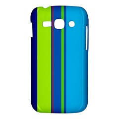 Blue and green lines Samsung Galaxy Ace 3 S7272 Hardshell Case