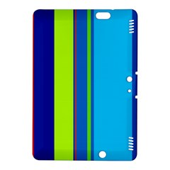 Blue and green lines Kindle Fire HDX 8.9  Hardshell Case