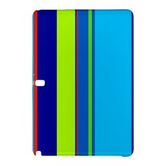 Blue and green lines Samsung Galaxy Tab Pro 10.1 Hardshell Case