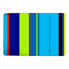 Blue and green lines Samsung Galaxy Tab Pro 10.1  Flip Case