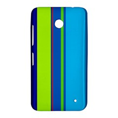 Blue and green lines Nokia Lumia 630