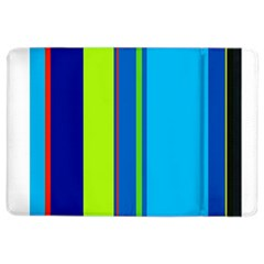 Blue and green lines iPad Air 2 Flip