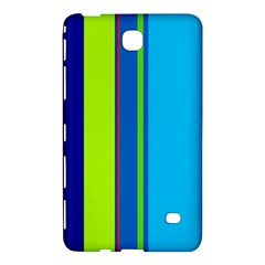 Blue and green lines Samsung Galaxy Tab 4 (8 ) Hardshell Case