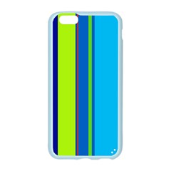 Blue and green lines Apple Seamless iPhone 6/6S Case (Color)