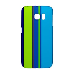 Blue and green lines Galaxy S6 Edge