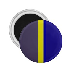 Blue and yellow lines 2.25  Magnets