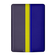 Blue and yellow lines Kindle 4
