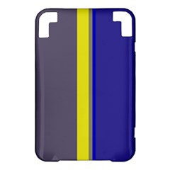 Blue and yellow lines Kindle 3 Keyboard 3G