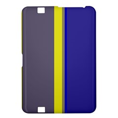 Blue and yellow lines Kindle Fire HD 8.9