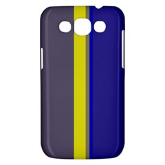 Blue and yellow lines Samsung Galaxy Win I8550 Hardshell Case