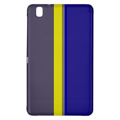 Blue and yellow lines Samsung Galaxy Tab Pro 8.4 Hardshell Case