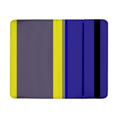 Blue and yellow lines Samsung Galaxy Tab Pro 8.4  Flip Case