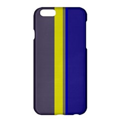 Blue and yellow lines Apple iPhone 6 Plus/6S Plus Hardshell Case