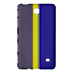 Blue and yellow lines Samsung Galaxy Tab 4 (8 ) Hardshell Case