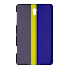Blue and yellow lines Samsung Galaxy Tab S (8.4 ) Hardshell Case