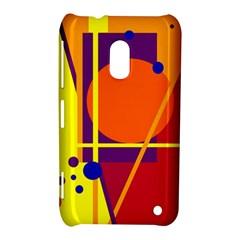 Orange abstract design Nokia Lumia 620