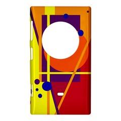 Orange abstract design Nokia Lumia 1020