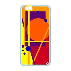 Orange abstract design Apple Seamless iPhone 6/6S Case (Color)
