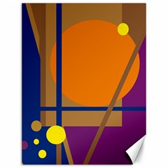 Decorative abstract design Canvas 12  x 16