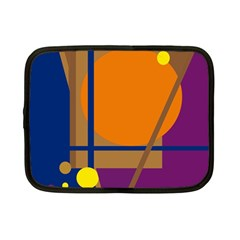 Decorative abstract design Netbook Case (Small)