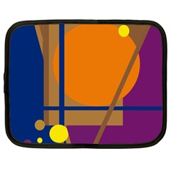 Decorative abstract design Netbook Case (XXL)