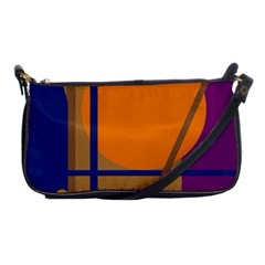 Decorative abstract design Shoulder Clutch Bags