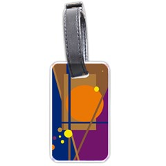 Decorative abstract design Luggage Tags (Two Sides)