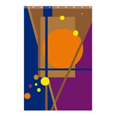 Decorative abstract design Shower Curtain 48  x 72  (Small)