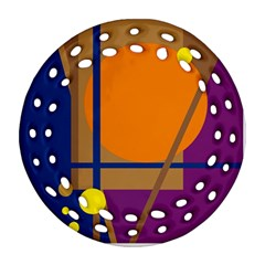 Decorative abstract design Ornament (Round Filigree)