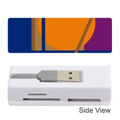 Decorative abstract design Memory Card Reader (Stick)