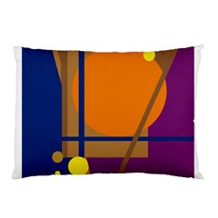 Decorative abstract design Pillow Case (Two Sides)