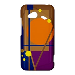Decorative abstract design HTC Droid Incredible 4G LTE Hardshell Case
