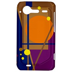 Decorative abstract design HTC Incredible S Hardshell Case