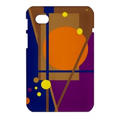 Decorative abstract design Samsung Galaxy Tab 7  P1000 Hardshell Case
