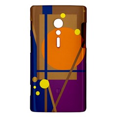 Decorative abstract design Sony Xperia ion