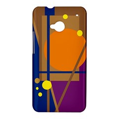 Decorative abstract design HTC One M7 Hardshell Case