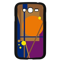 Decorative abstract design Samsung Galaxy Grand DUOS I9082 Case (Black)