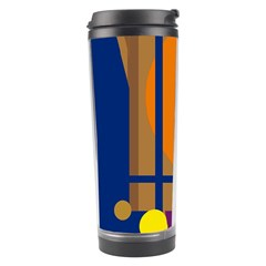 Decorative abstract design Travel Tumbler
