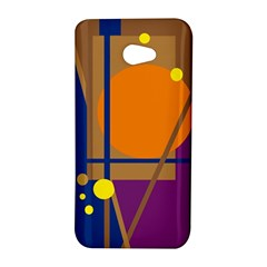 Decorative abstract design HTC Butterfly S/HTC 9060 Hardshell Case