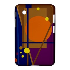 Decorative abstract design Samsung Galaxy Tab 2 (7 ) P3100 Hardshell Case