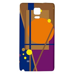 Decorative abstract design Galaxy Note 4 Back Case